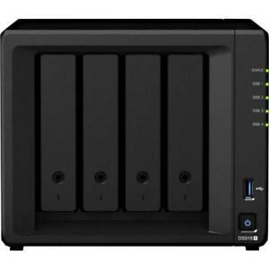 Boîtier serveur nas synology diskstation ds918+ 4 baie 2 x