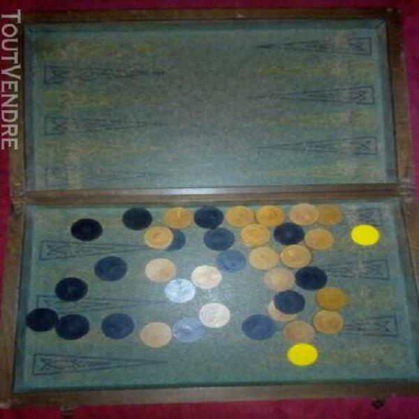 Grand jeux de dame et backgammon ancien