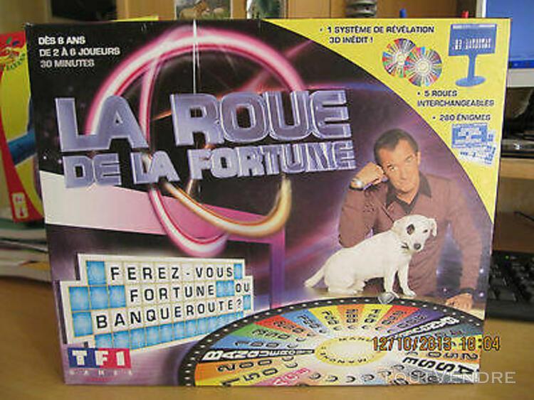 Jeu la roue de la fortune tf1 games