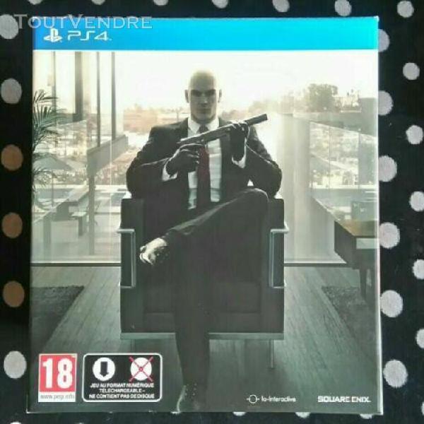 Jeux playstation 4 hitman édition collector - ps4 - très