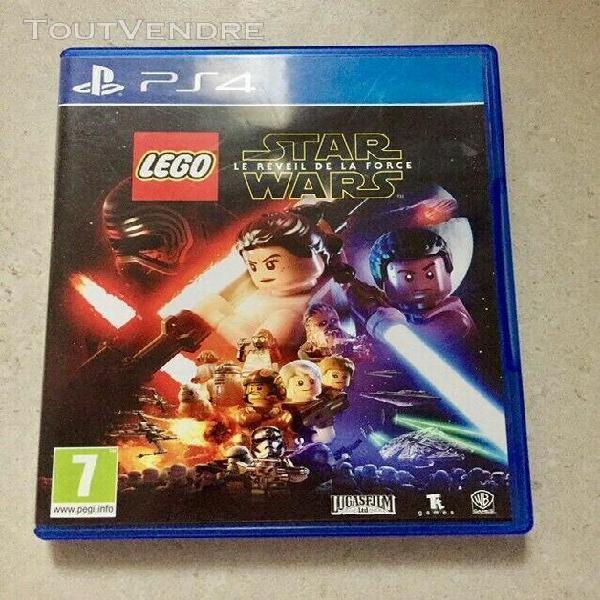 Lego star wars: le réveil de la force sur ps4