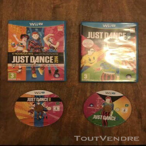 Lot jeux just dance wii u