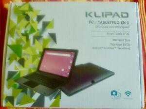 Pc/tablette 2 en 1: écran détachable du clavier pour
