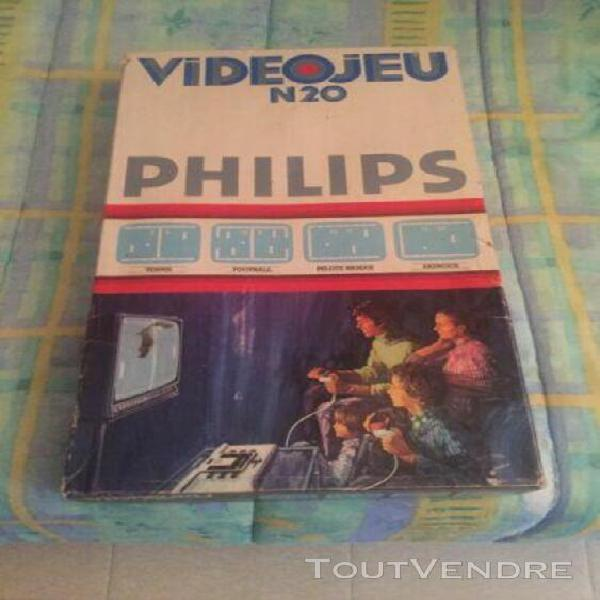 Philips videojeu n20 console vintage