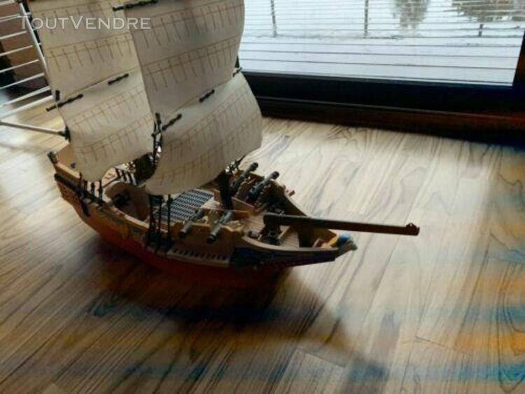 Playmobil 4290 grand bateau camouflage des pirates incomplet