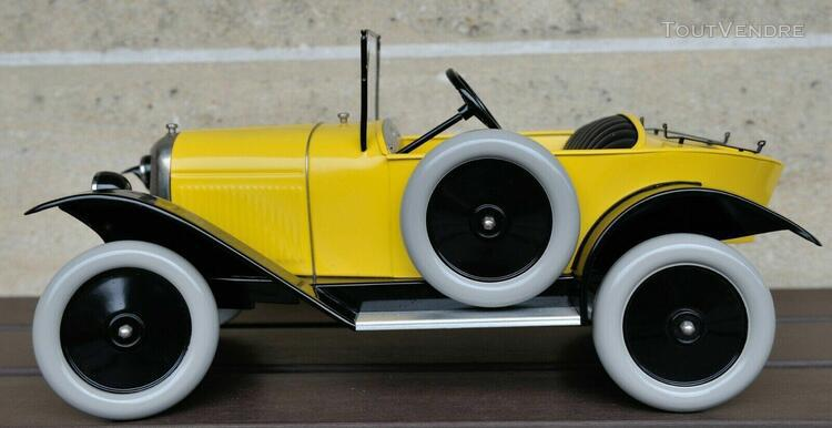 Rare voiture citroën 5 hp cul de poule au 1/10 ème rêve
