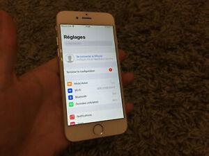 Apple iphone 6 argenté 64gb débloqué dans l'état