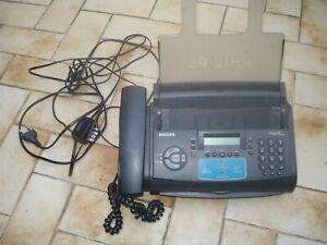 Combiné téléphone, fax, répondeur de marque philips