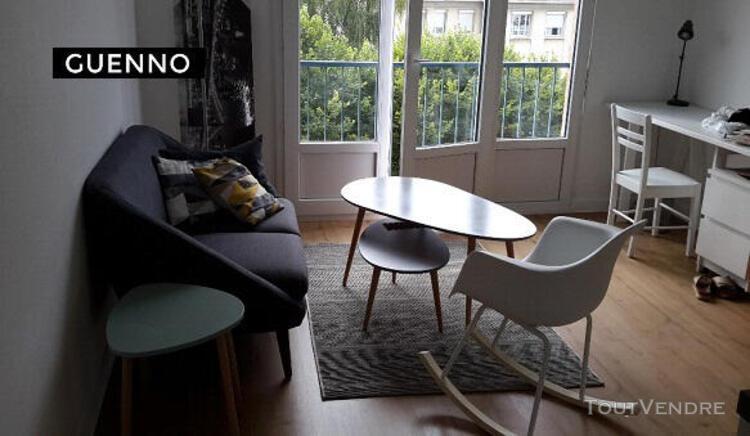 Location t2 meuble - 30 m² - 1 chambre - location immobil