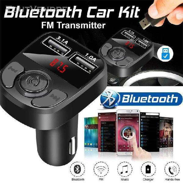 Mp3 de voiture bluetooth transmetteur fm lecteurs mp3 fm mod