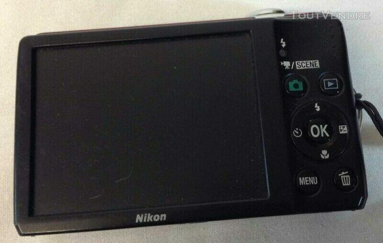 Nikon coolpix l22 / 12mp appareil photo numérique,coque
