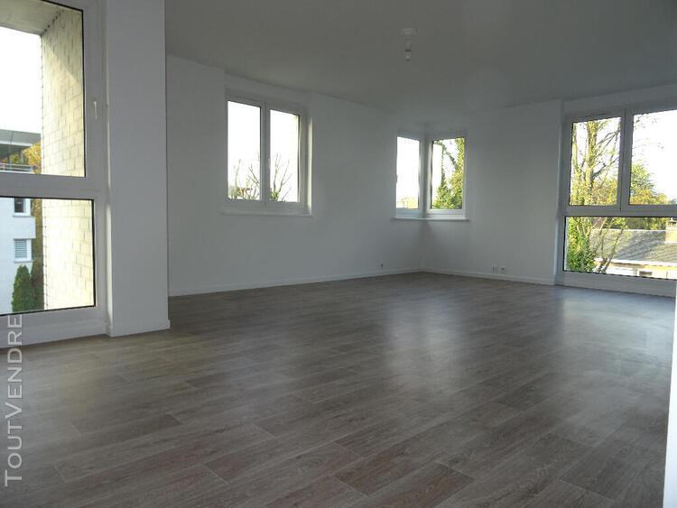 T3 à barbieux 78m² grande terrasse et garage sous sol