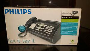 Téléphone - fax philips magic 5 eco voice