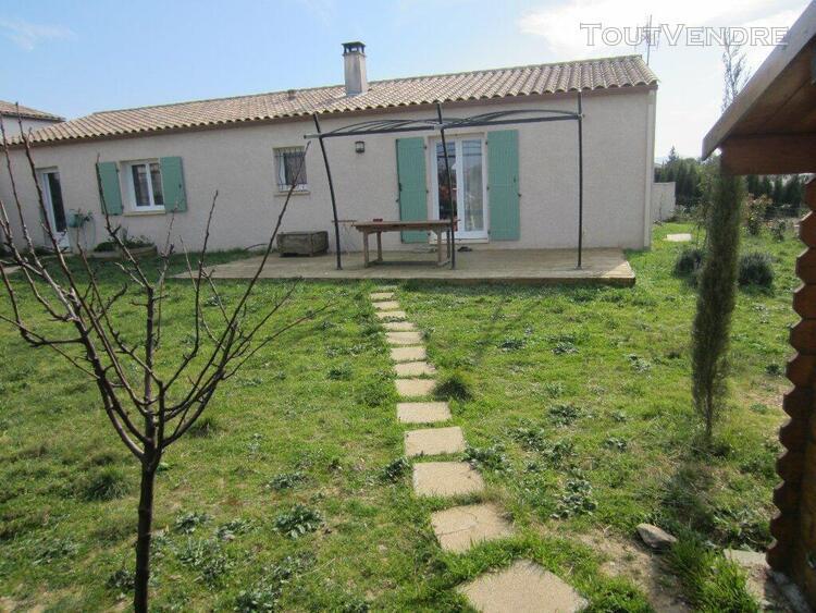 Villa t5 plain pied avec jardin