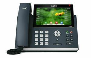 "Yealink sip-t48s - téléphone ip ecran a couleur 7 """