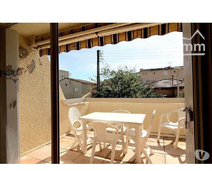 Exclusivité: appartement 2 chambres avec balcon, terrasse