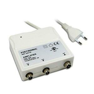 Metronic amplificateur répartiteur uhf avec réglage de 2