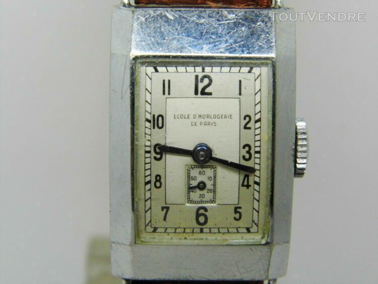 montre école d'horlogerie de paris lip t18 vers 1940-1950