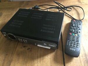 CGV ESAT HD-W4 R/écepteur Satellite HD Noir