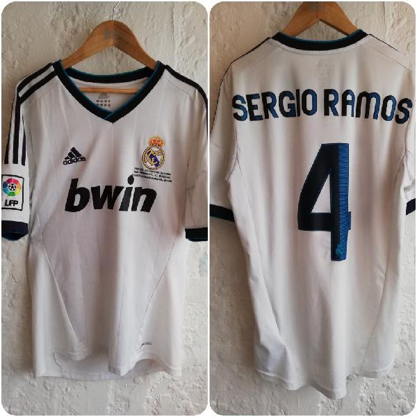 camiseta real madrid supercopa 2012