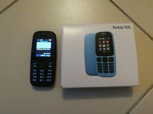 Téléphone mobile nokia 105 (2017) - noir (dual sim)