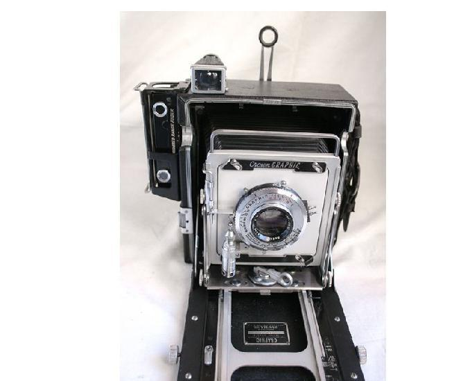 graflex crown graphic pacemaker 4x5