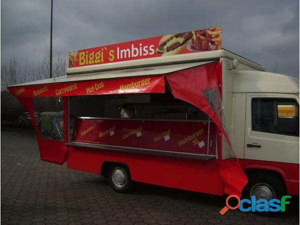 Camion snack mercedes benz mb 100