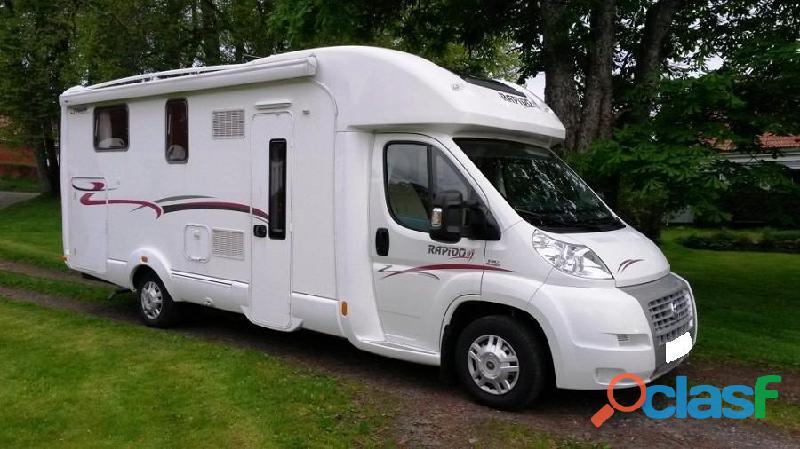 Camping car Rapido 7066 2012