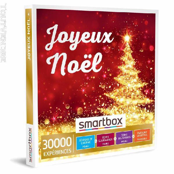 joyeux noël smartbox coffret cadeau multi-thèmes
