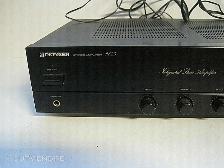 Pioneer stéréo amplificateur a-119