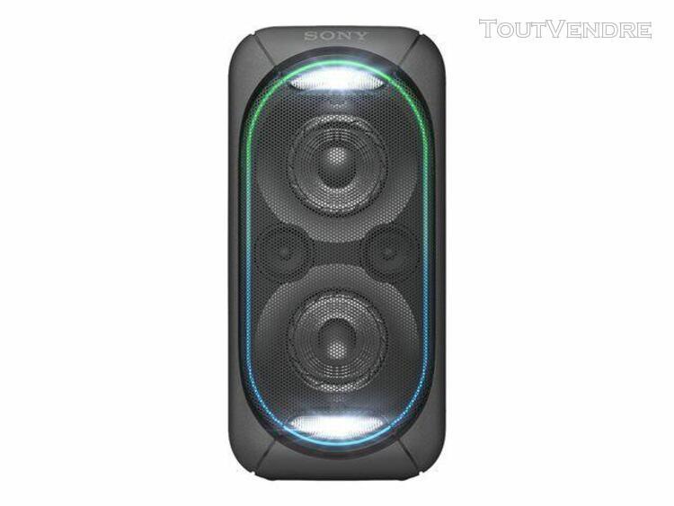 sony gtk-xb60 - enceinte sans fil bluetooth - noir