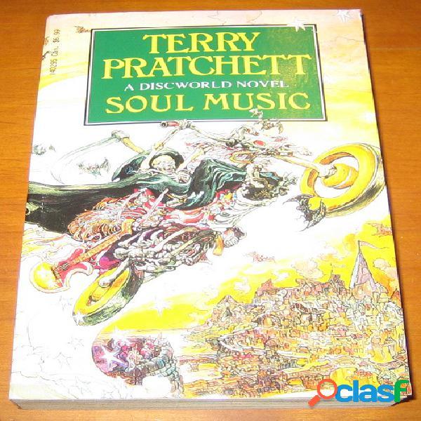 A discworld novel 16 - soul music, terry pratchett