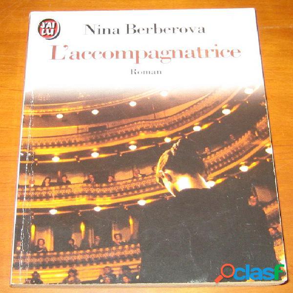 L'accompagnatrice, nina berberova
