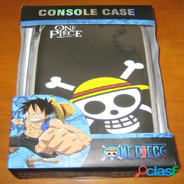 Sacoche one piece pour consoles 3ds, dsi et ds lite