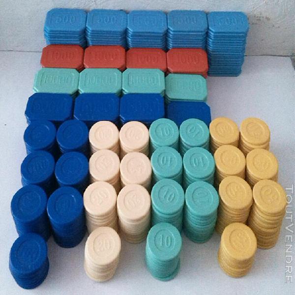 649 jetons de poker en plastique 649 vintage plastic poker c