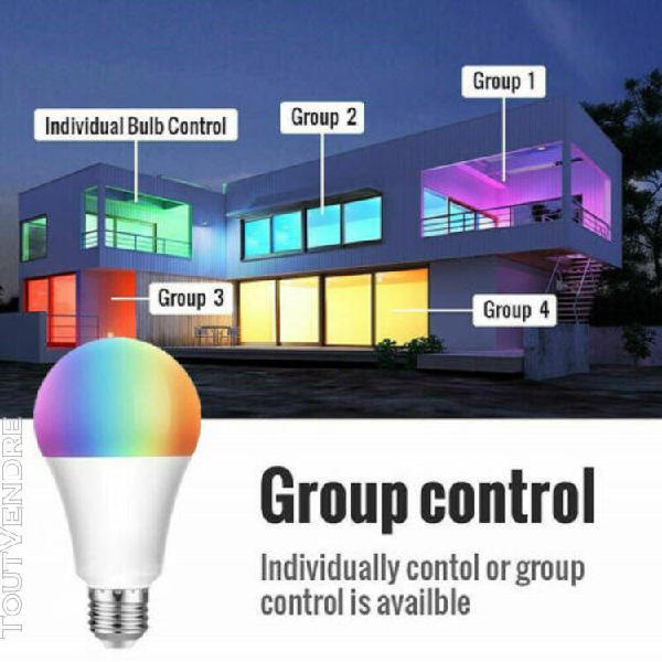 Google Home,Contr/ôle /à Distance et Commande Vocale,/Équivalent 150W Lumary LED Spot Encastr/é Connect/ée Alexa,18W WiFi LED Spots Encastrables,Multicolore et Dimmable RGBW 2700K-6500K,Compatible Alexa