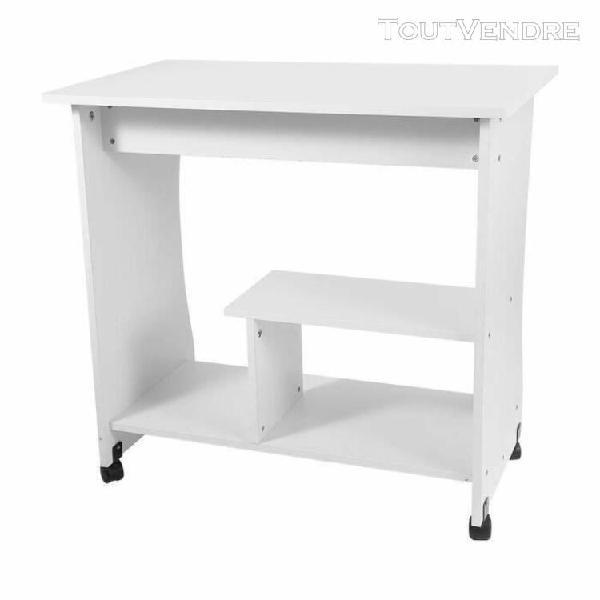 Bureau d'ordinateur d'étude table de l'ordinateur en bois