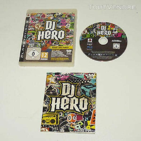 Dj hero - fr - sony playstation 3 / ps3