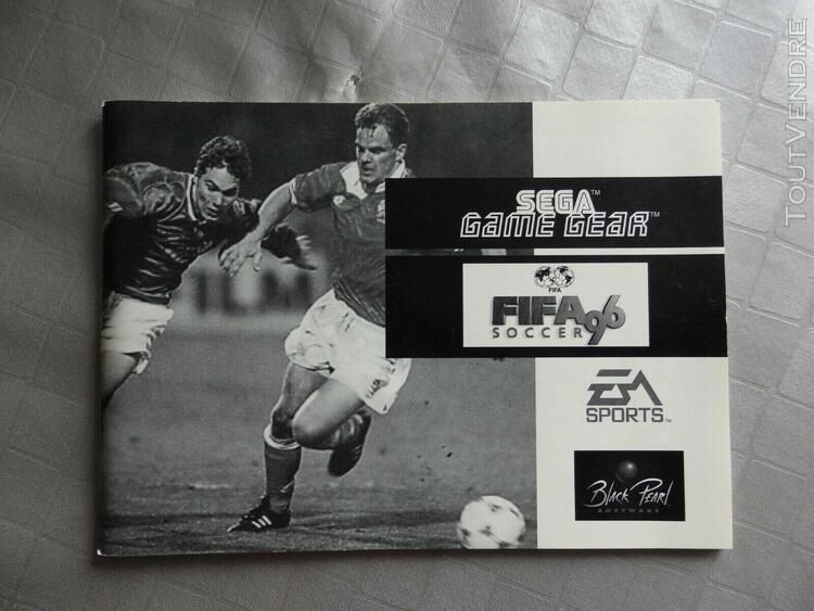 Fifa 96 - sega game gear - pal - excellent état général -