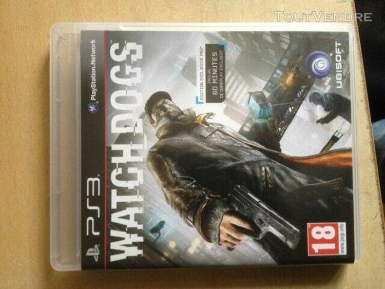 Jeu playstation ps3 - watch dogs