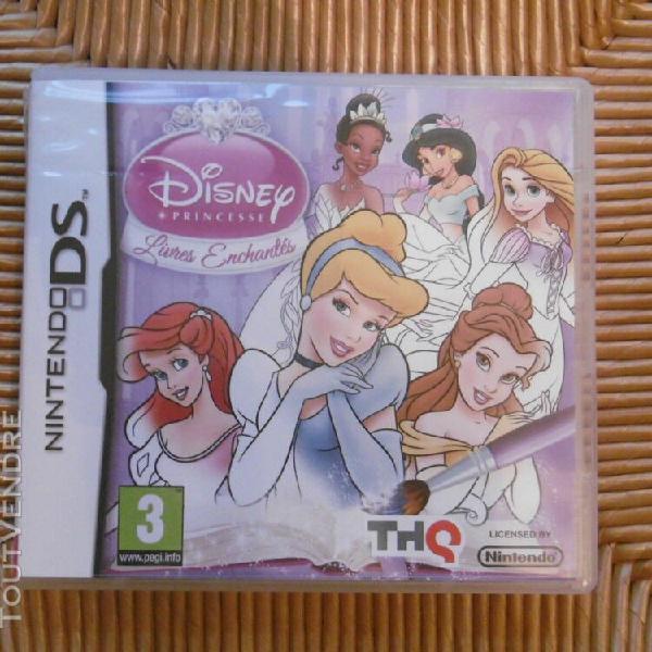 """Jeux nintendo 3ds """" disney princesse """" très bon etat avec"""