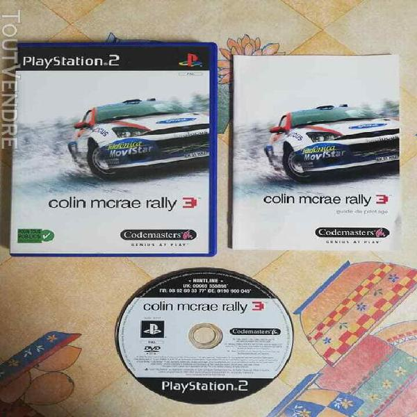Jeux vidéo console colin mcrae rally 3 - playstation 2 ps2