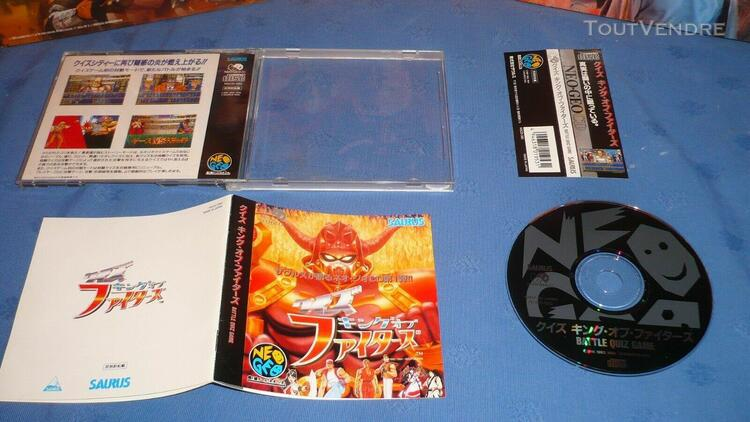Neo geo cd quiz king of fighters complet + spin