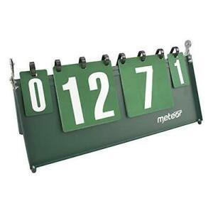 Sports tableau scoreboard d'affichage portable chiffres
