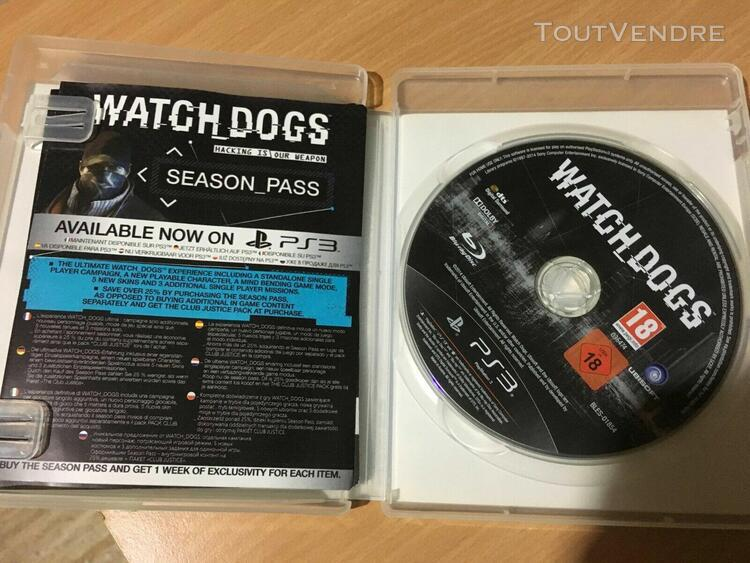 Watchdogs ps3 watch dogs jeux video