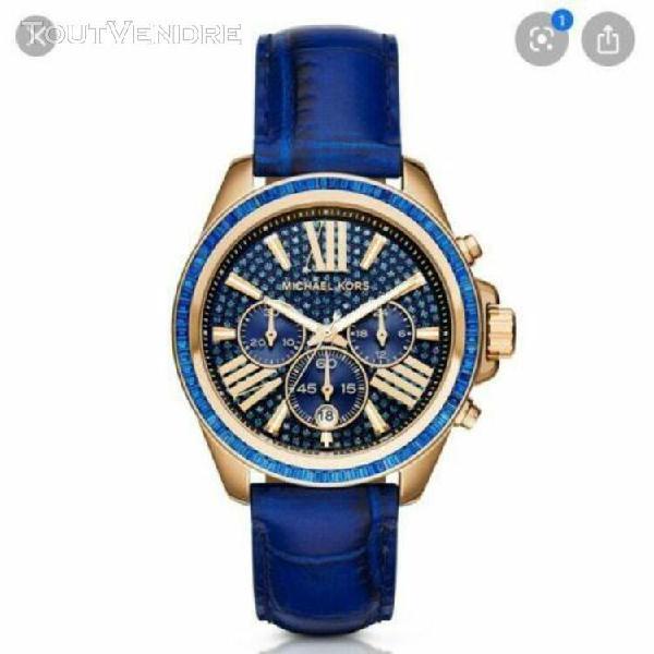 Michael kors woman's blue watch mk2450