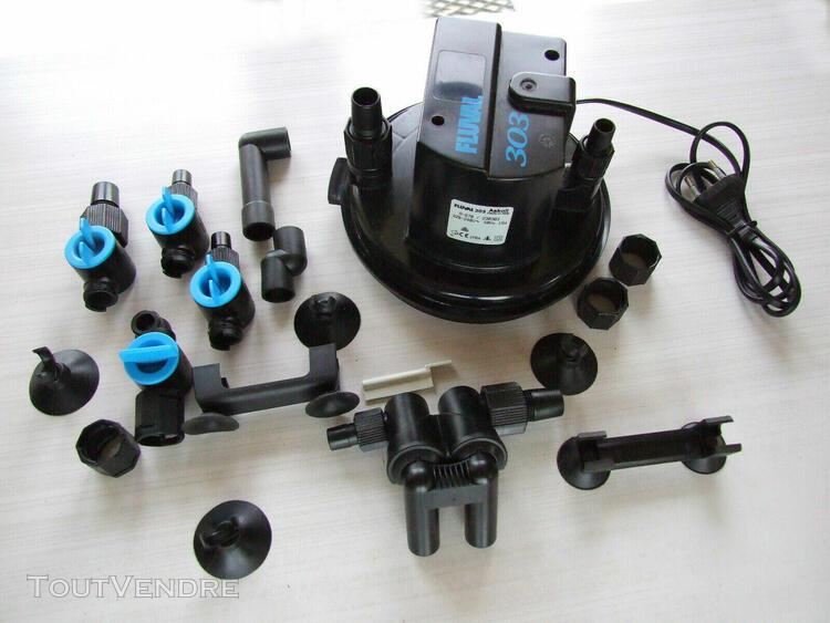 Tête de filtre avec moteur et accessoires pour filtration