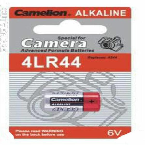 1 pile 4lr44 6 volts alcaline+