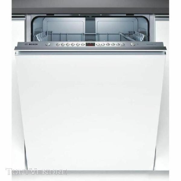 Bosch serie   4 smv46gx01e - lave-vaisselle - intégrable -