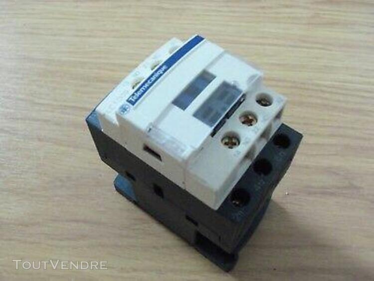 contacteur schneider / télémécanique lc1 d09 b7 bobine 24